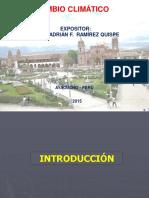 Cambio Climático - Biodiversidad