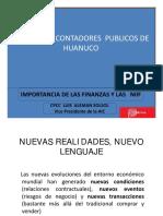 Importancia de Las Finanzas Huanuco [Modo de Compatibilidad]
