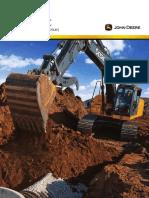 Catalogo Excavadora JD 210G