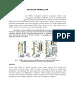 Membran Bio Reaktor