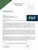 Documento Del MSP Al CSO - MSP se niega a acatar informe técnico del Consejo de Salud Ocupacional del MTSS