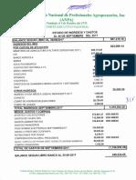 Informe Financiero ANPA Septiembre 2017