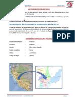 Antecedentes-marco Teorico-ubicacion-memoria Descriptiva en El Formato