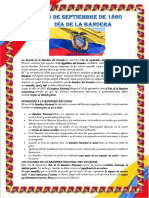 La Historia de La Bandera Del Ecuador