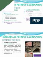 Unidad IV Materiales Petreos y Agregados