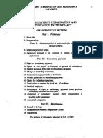Employment Termination Act