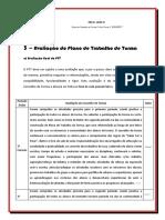 A) Avaliacao Final Do PTT