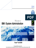 Ibm i Administration