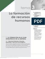 Capitulo 3 La formacion de recursos humanos
