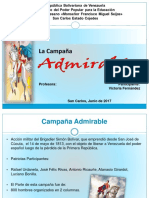 La Campaña Admirable (Victoria)