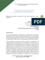 Geopolítica y Globalización Perspectivas Para La Continuidad Del Proyecto Filosófico-político en Contexto Latinoamericano -Resumen