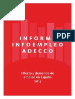 Informe Infoempleo-Adecco 2015