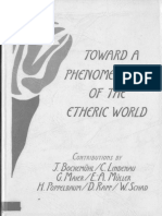 Bockenmuhl - Toward a Phenomonology of the Etheric World
