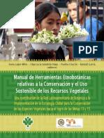 Manual de herramientas etnobotánicas relativas a la conservación y el uso sostenible de los recursos vegetales
