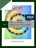 Psicología Del Desarrollo II. Orientaciones Para El Estudiante - 2017-18.PDF