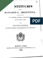 Constitucion Argentina1826