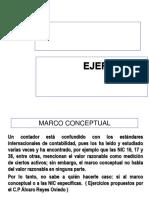 Ejercicios Marco Conceptual Clase 2017