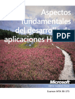 Spanish Moac Las 98-375 Html5 Appdev Textbook 40086a