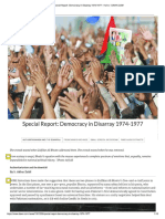Bhutto Authoritarian Rule