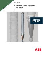 Resin Impregnated Paper Bushing ABB
