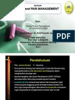 Referat Anastesi - Pain and Pain Management