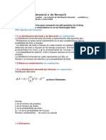 Bernulli Binomial