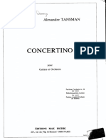 Concertino Para Guitarra y Orquesta - A Tansman002