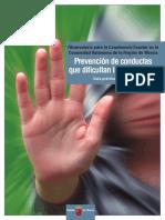 8085-Texto Completo 1 Prevención de Conductas Que Dificultan La Convivencia - Guía Práctica Educativa