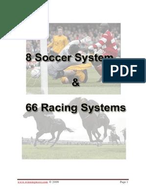 Horse racing betting systems pdf files baddeleyite mining bitcoins