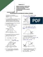 TRABAJO N° 3 distribución normal estandar