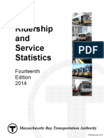 2014 Bluebook 14th Edition(1) MBTA Statistics