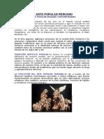 Arte Popular Peruano Texto