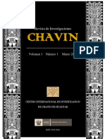 portada Revista CHAVIN