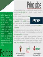 Política SSPA 6 Principios