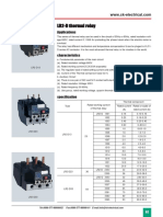 Thermal Overload Relay Datasheet