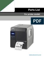 CL4NX Series Parts List