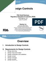Day 1 2 - Design Controls - SLiu