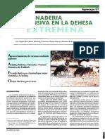 La ganadería extensiva en la dehesa extremeña  por Antonio Rodríguez de Ledesma Vega, Miguel Escribano Sánchez, Francisco Pulido García En