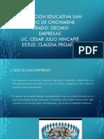 Institucion Educativa San Isidro de Chichimene (1)