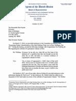 2017 10 12 TG EEC to Governor Snyder MI OGR Testimony