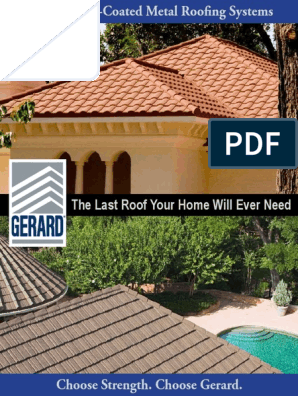 Brochure Gerardproductline Roof Home Insurance