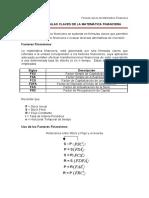 Lectura N· 5 Formulas Claves de Matematica Financiera