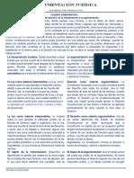 CUADRO COMPARATIVO Argumentacion e Interpretacion Juridica