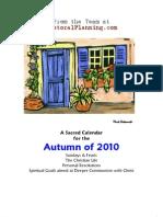 WHWS131 Sacred Autumn Calendar