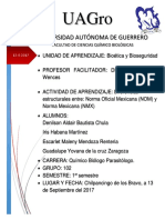 Diferencias Entre La Norma Oficial Mexicana (NOM) y Norma Mexicana (NMX)