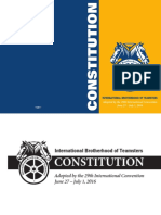 Teamsters Constitution 2016