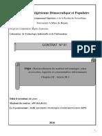 Contrat Matériel Informatique