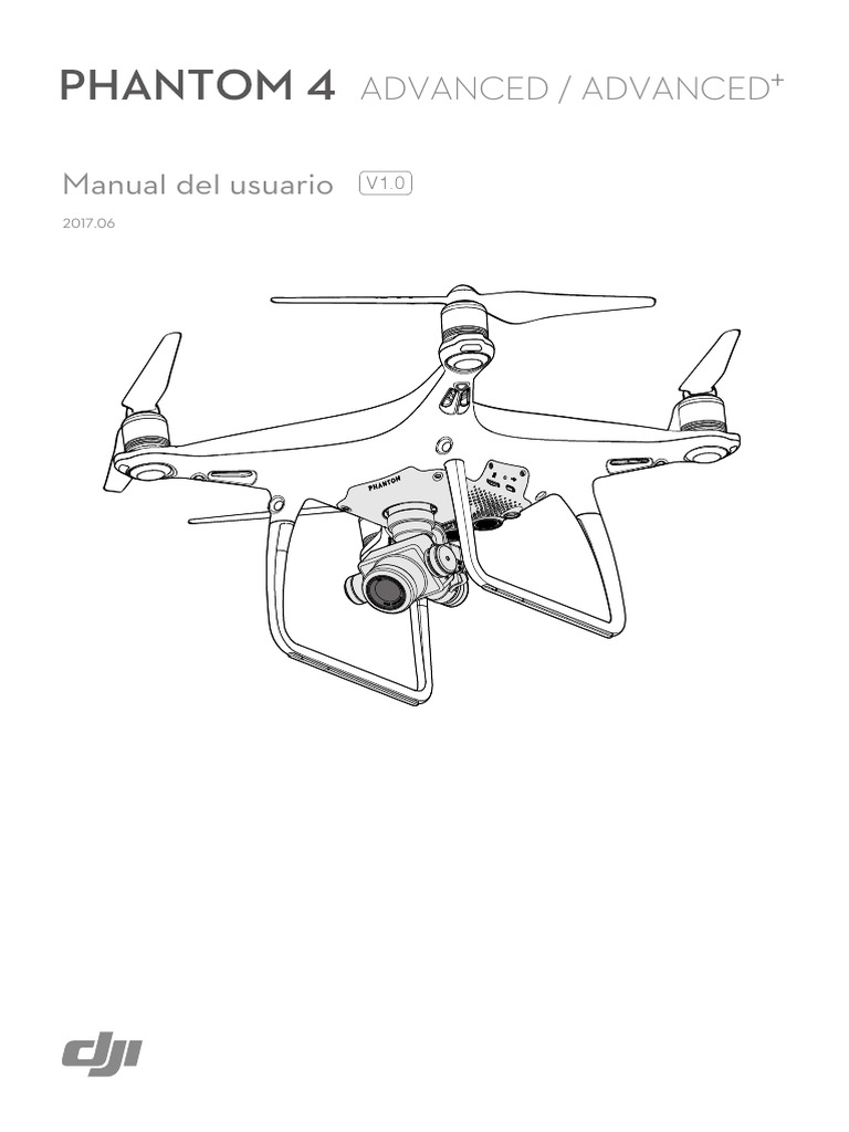 MANUAL DE USUARIO PHANTOM 4 ADVANCED