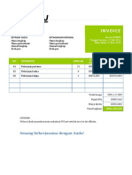 Template Invoice Microsoft Word gitulH