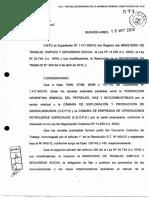 Importe Promedio y Tope Indemnizatorio CCT 643 2012 A